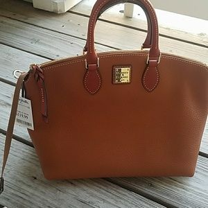 Dooney and Bourke domed satchel NWT